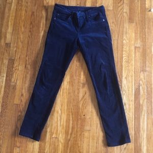 KUT from the cloth corduroy jeans. Dark Blue